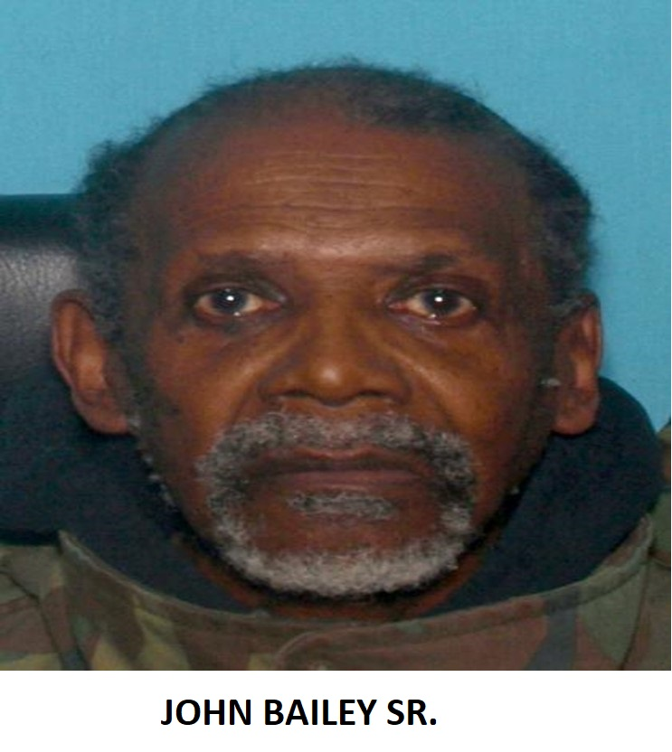 Missing Person – John Bailey Sr.